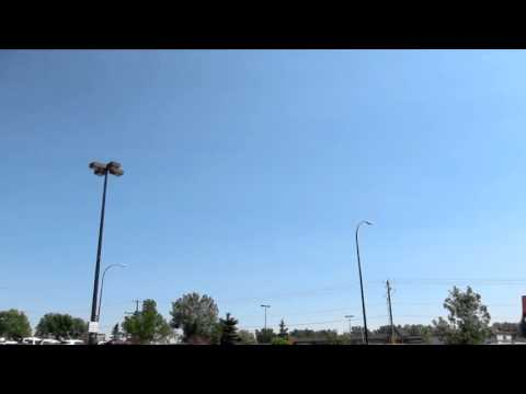 Sky booms set off alarms July 6 2013 Canada