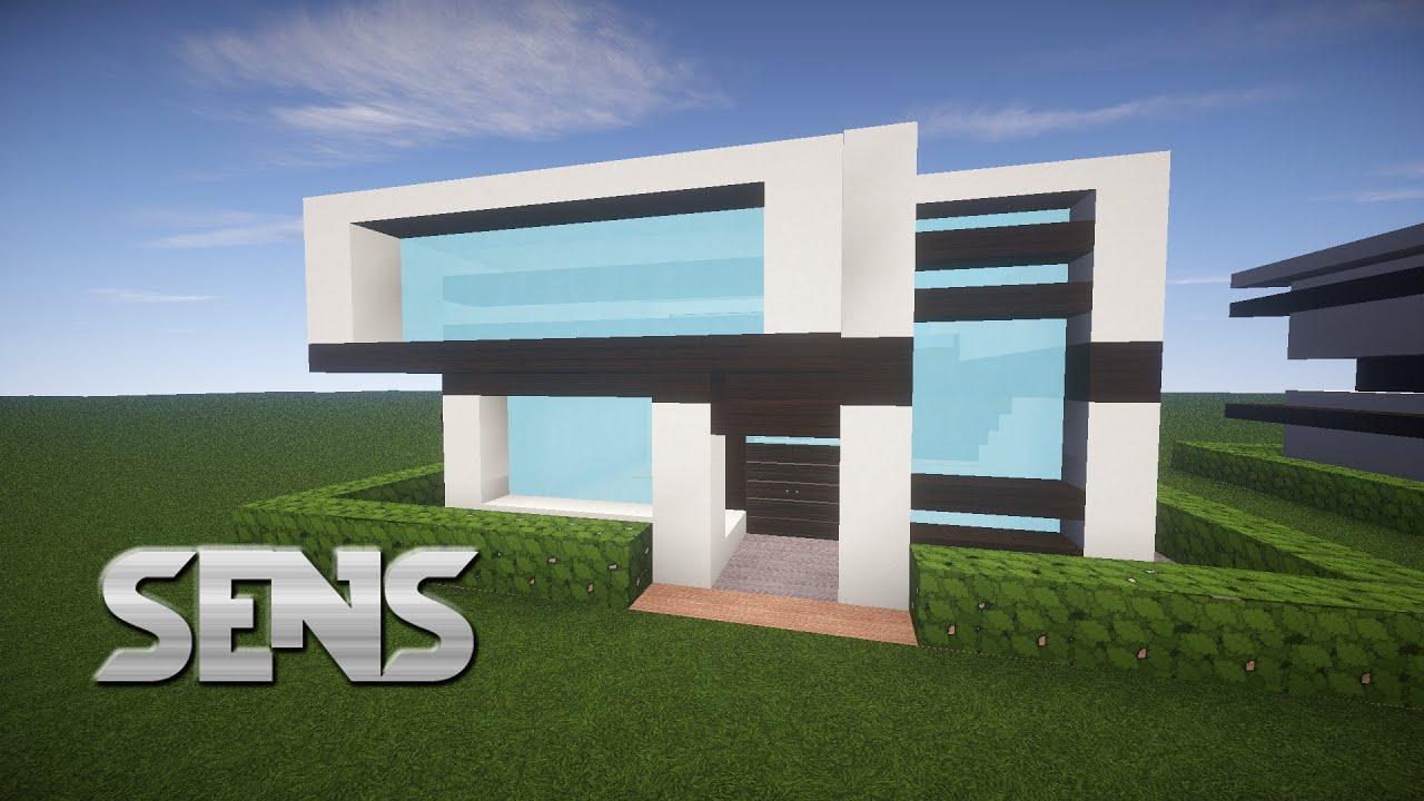 Easy Minecraft Modern House Tutorial YouTube