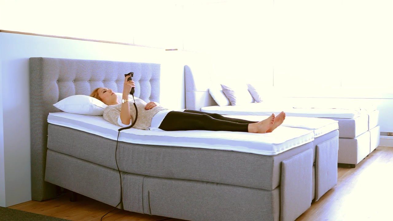 elektrisch verstellbares boxspringbett youtube. Black Bedroom Furniture Sets. Home Design Ideas