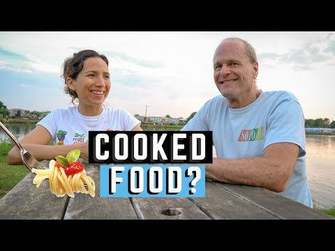 Raw Vegan Food vs Cooked Plant-Based Food (2019) - Dr Doug Graham DC