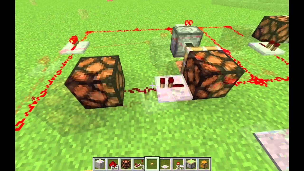 Minecraft Pulse Signal To Stable Just When Condition Is Satisfied Toolbar Creator Galleries Related Monostable Circuit