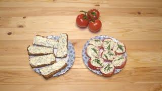 Плавленный сыр с чесноком Как приготовить помидоры с сыром Рецепты закусок на скорую руку
