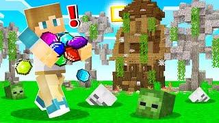 Exploring MAGIC TEMPLES in Camp Minecraft! (Season 3)
