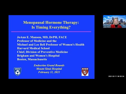 Menopausal Hormone Therapy: Is Timing Everything?