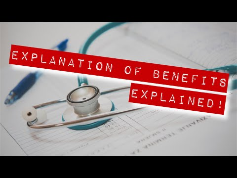 EOB (Explanation Of Benefits), Deductibles, Coinsurance And Copays - EXPLAINED