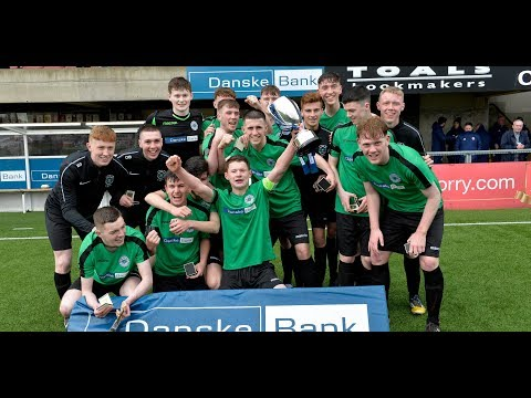 Highlights: Danske Bank NISFA Schools' Cup final -  St Malachy's College 3-1 De La  Salle College