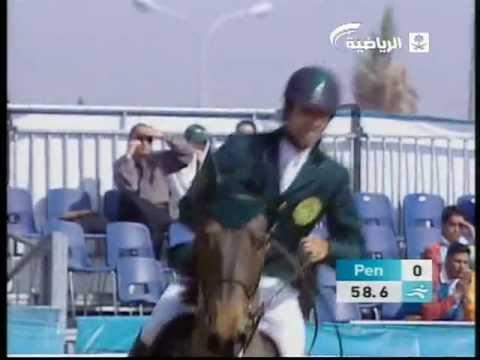 Prince Abdullah Bin Miteb Al Saud in doha  الفارس الامير عبدالله بن متعب