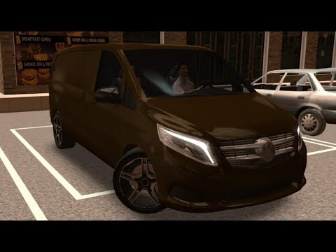 Mercedes Vito Driving School 2016, Mercedes Vito with Steering Wheel, Car Driving Games