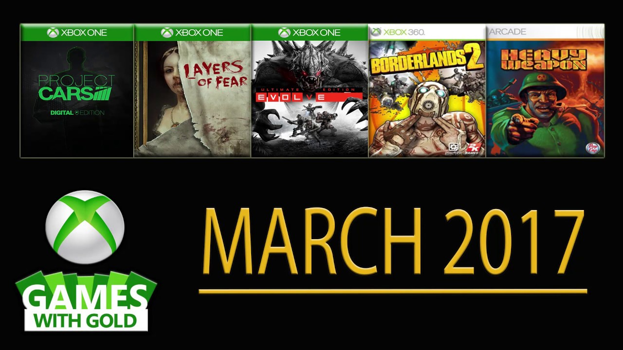 Games With Gold March 2017 Xbox Free Games