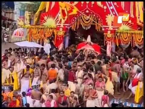 Lord Jagannath Pahandi - Puri Bahuda Yatra 2017