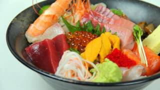 Ootoro Sushi Chirashi Lunch Special | Walnut Sashimi | Los Angeles