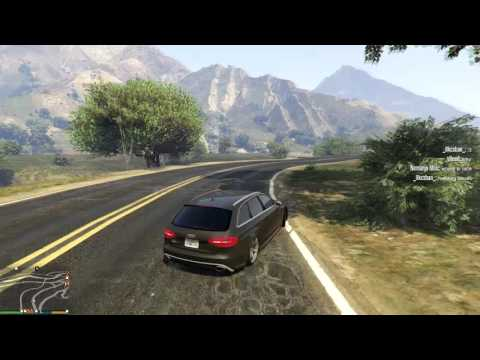 GTA V ! Audi RS4 ! Drift!