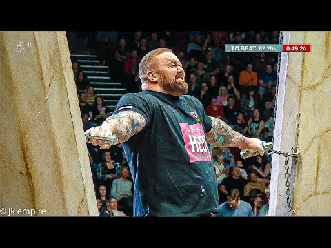 Hafthor Bjornsson in HERCULES HOLD / Europe Strongest Man 2019