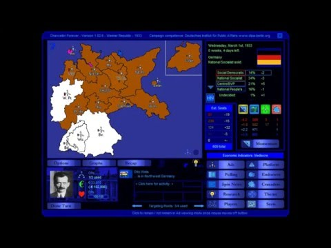 Germany: Weimar Republic 1933 Election Game (SPD)