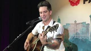 Panic! At The Disco - High Hopes Live (Acoustic) — 2018 iHeartRadio Capital One Kickoff Party Video