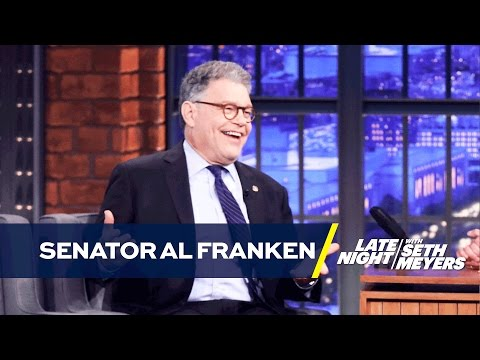 Trump Never Seemed Like a Guy Senator Al Franken Wanted to Know