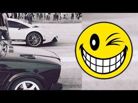 ВАЗ 2107 турбо Amag VS Lamborghini & Shelby GT