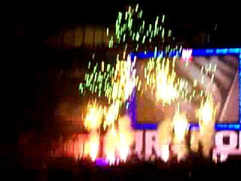 WWE Survivor Series 2008 pyro