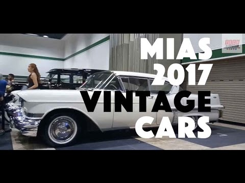 MIAS - Manila International Auto Show 2017: VINTAGE Cars, Classic Cars Restored