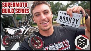 Making a Dirt Bike STREET LEGAL!! [Supermoto Build Part 15]