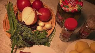 ✅✅✅АЗУ ПО ТАТАРСКИ,с солёными огурцами #кухнянародовроссии#рецепты#азупотатарски