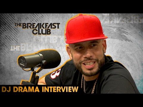 DJ Drama Interview With The Breakfast Club (8-10-16)