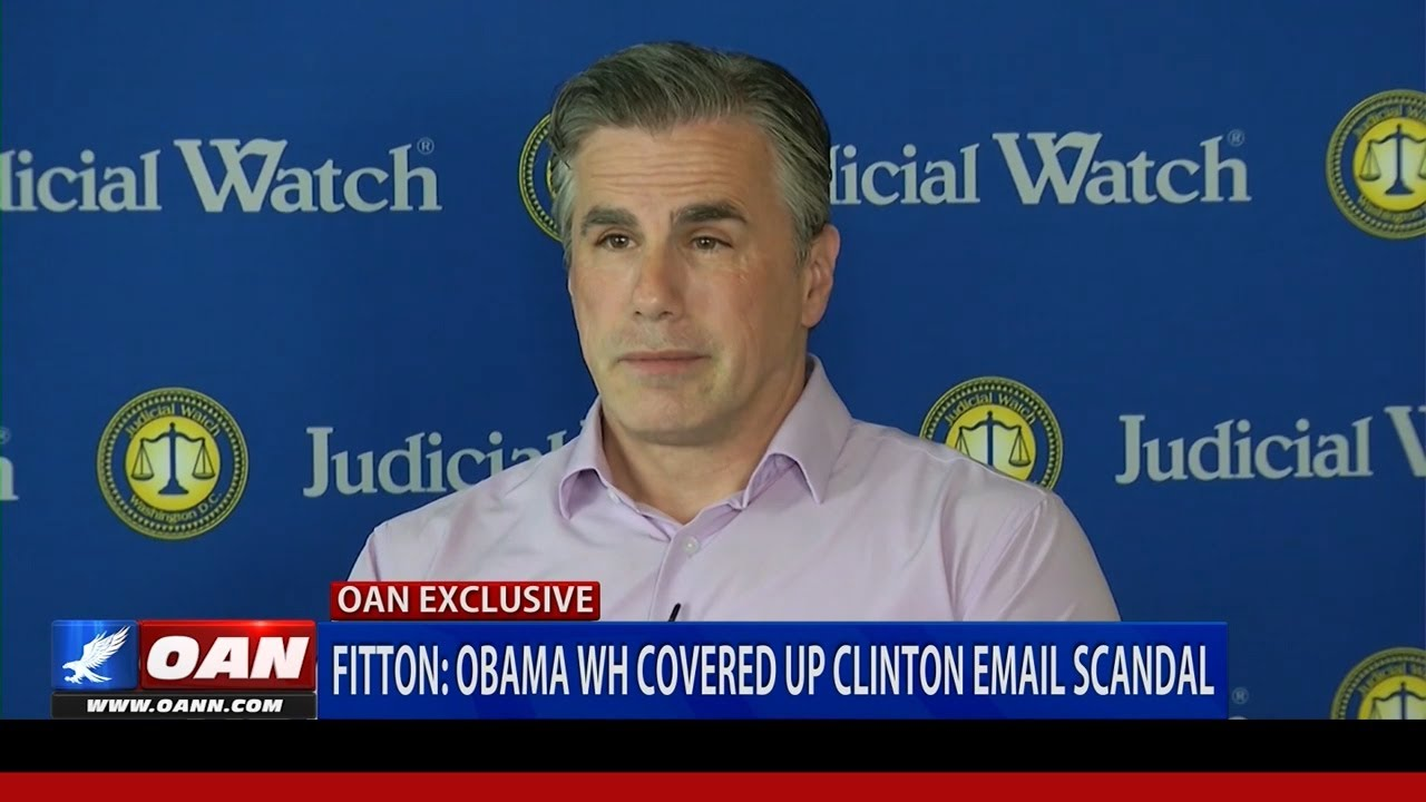 Judicial Watch Tom Fitton: 'EVERYONE KNEW' about Hillary Clinton's Illicit Email Usag