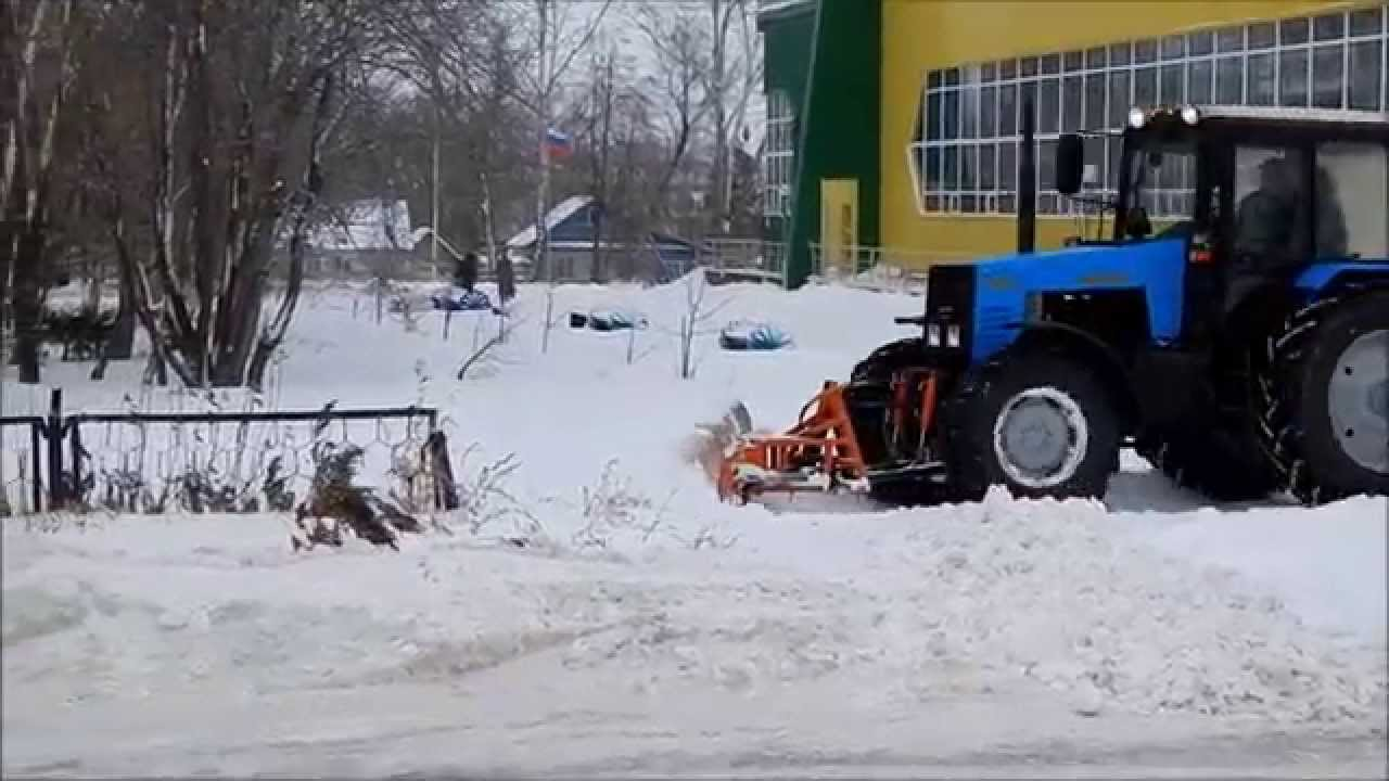 Снегоуборочное оборудование