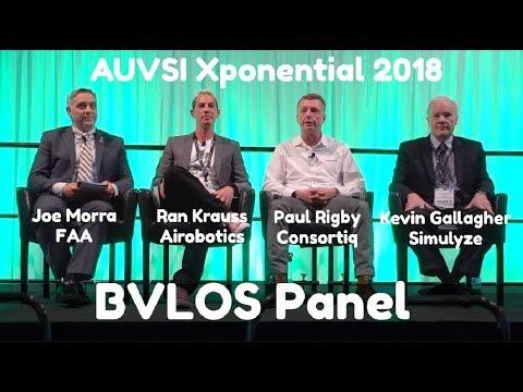 Drone Technology Advancements for BVLOS | Panel - AUVSI Xponential, Denver 2018