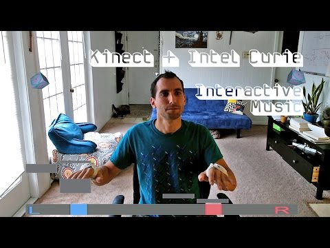 Playing Electronic Music With Gestures (Kinect + Intel)