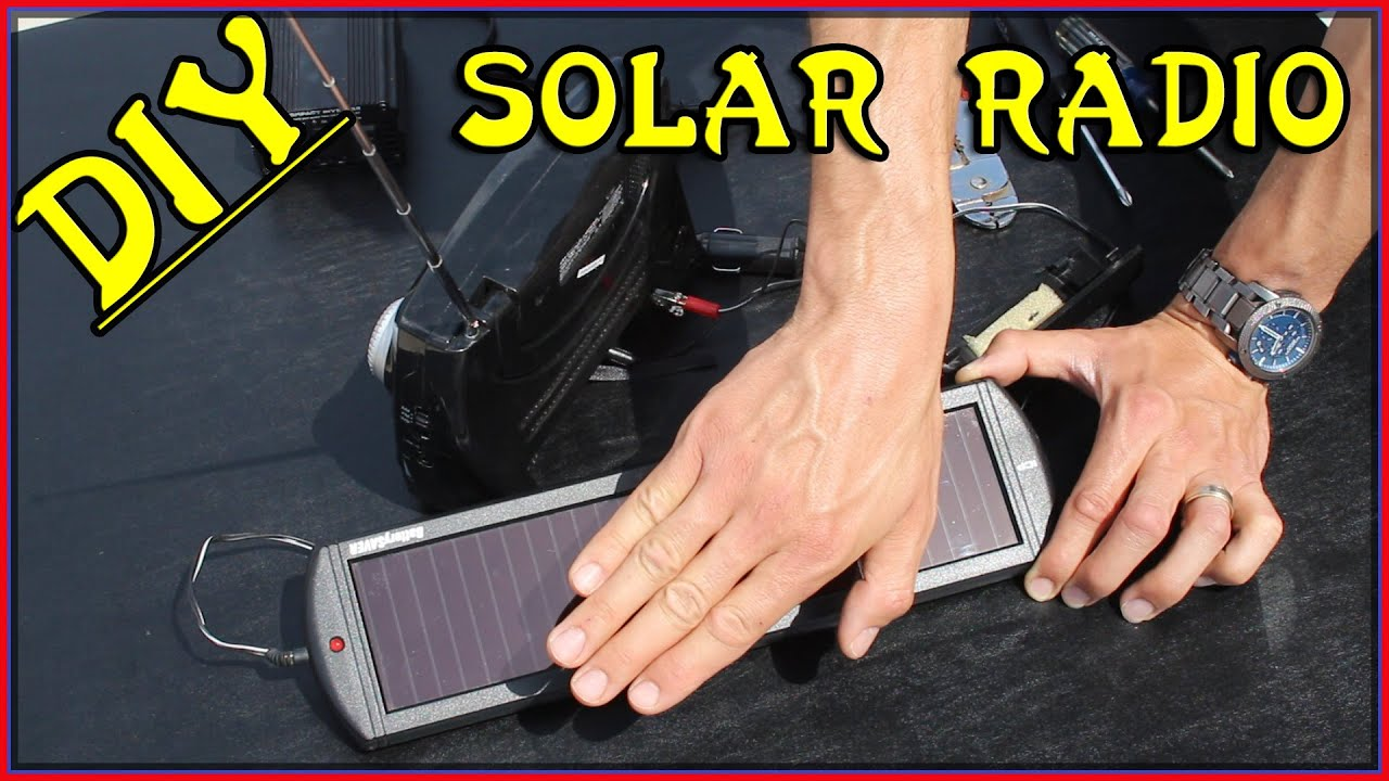 Easiest Diy Solar Powered Radio Diy Solar Project