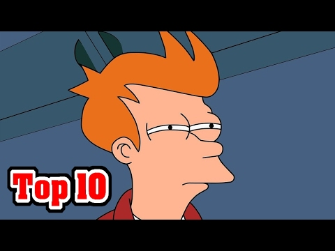 Top 10 AMAZING Facts About FUTURAMA