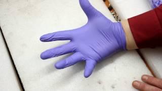 видео перчатки резиновые