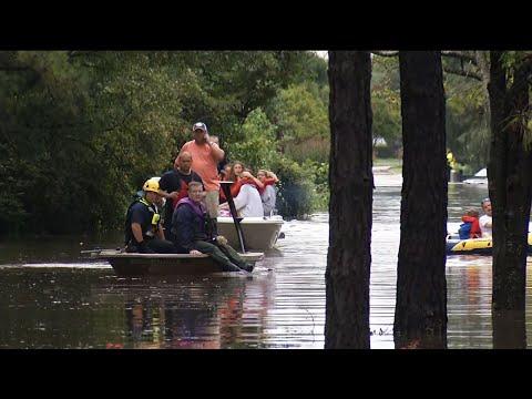 Floods Devastate Parts of Harris County, Texas