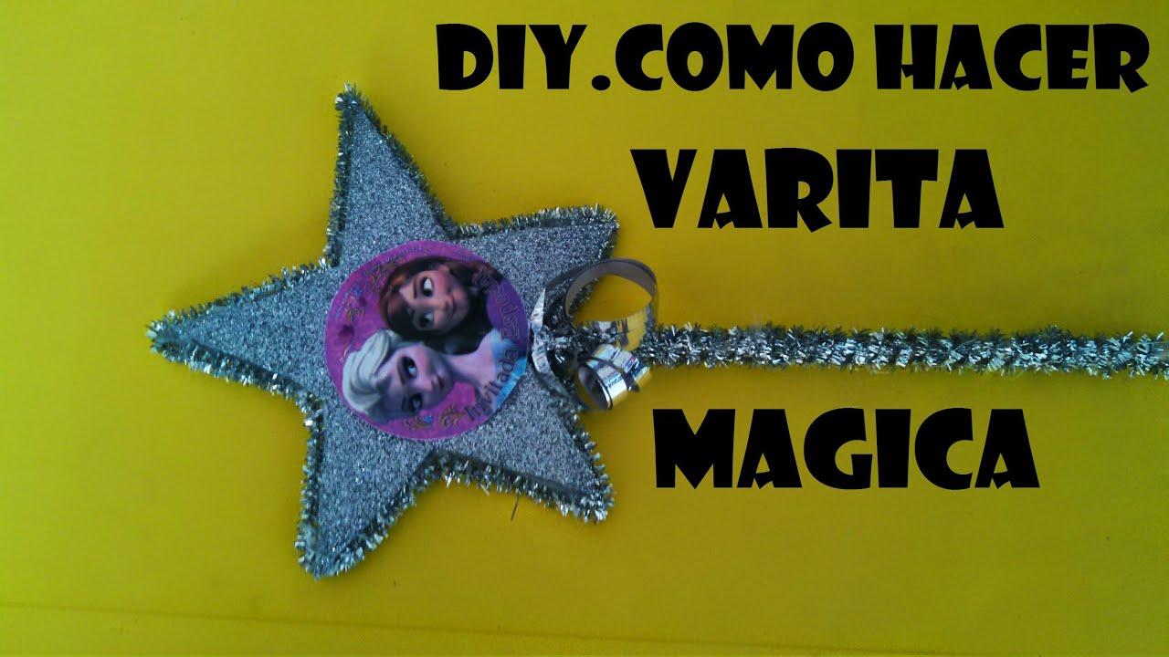 diy como hacer una varita magica personalizada para