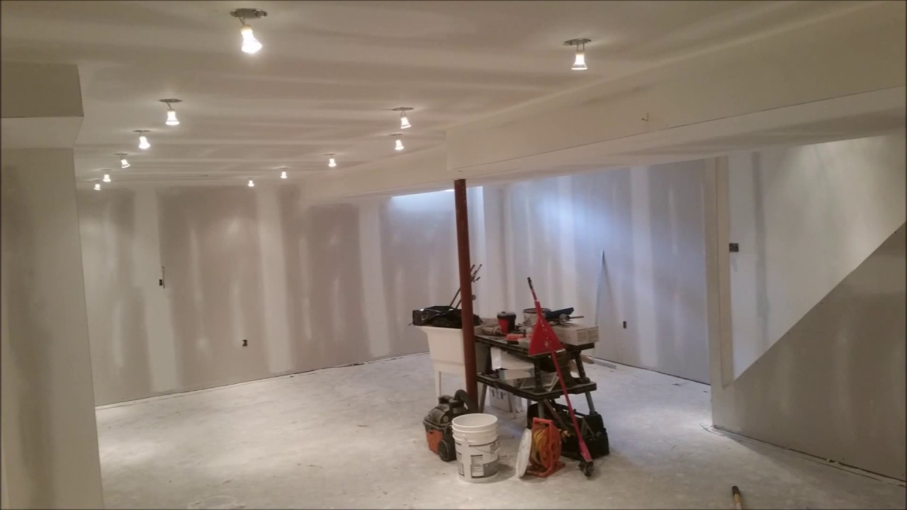 Beau Finishing Another Basement From Start To Finish