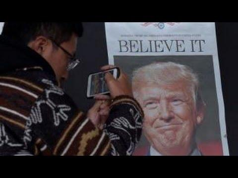 Trump 'Making America Great Again' in China?