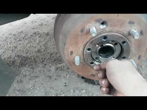 Kia Bongo 3 ремонт тормозов ( 2 часть )