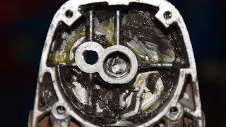 1) Замена втулки на болгарке (как снять втулку) / Смотреть как поменять втулку