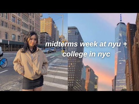 NYU VLOG: a week of classes, exams, life in the city