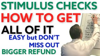 Stimulus Check: How t๐ Get Recovery Rebate Credit [Economic Impact Payment] How to Calculate EIP.