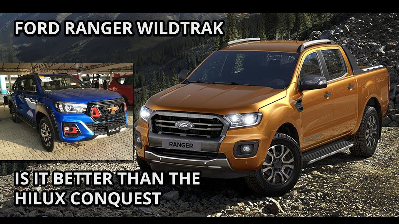 2019 Ford Ranger Wildtrak Bi Turbo Review Better Than The Hilux Conquest Trd Philippines Youtube