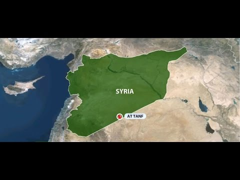 US bombs pro-government forces in Syria