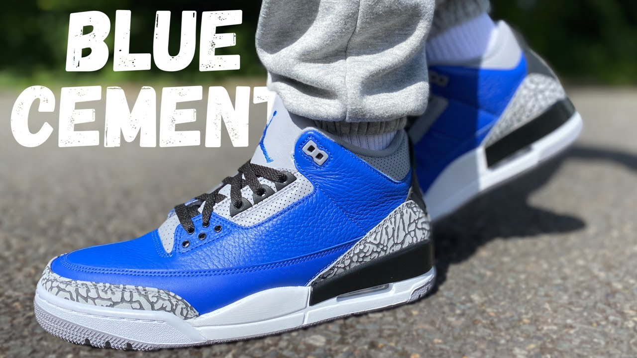 jordan 3 blues