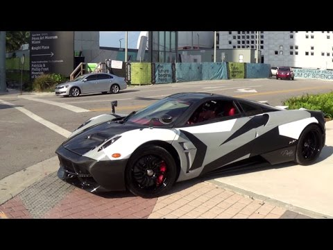Pagani Huayra Crazy design supercar at Festivals of Sd 2015 ...