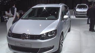 Volkswagen Sharan 4Motion AllStar 2.0 TDI SCR 184 hp 7DSG (2016) Exterior and Interior