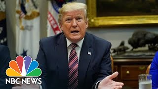 Trump Takes On Light Bulbs And Flushing Toilets In Business Roundtable | NBC News