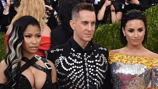 Fans Think Nicki Minaj CAUSED Demi Lovato To Go An AA Meeting After Met Gala