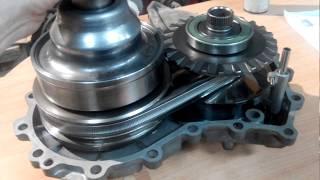 Как выглядят конуса и ремень? Вариатор JF010E. Nissan Murano