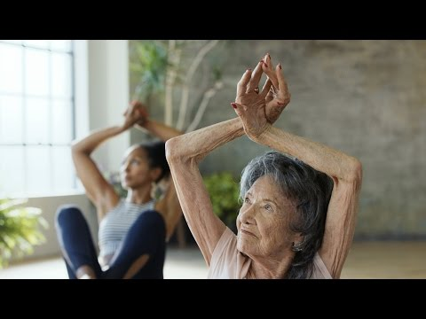 At 98 years old, Tao Porchon-Lynch has been teaching yoga for 78 years.